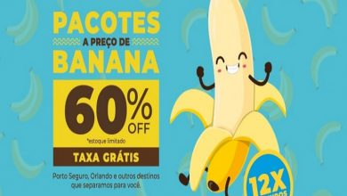 Foto de Viajar a preço de banana? No Hurb você encontra pacotes nacionais e internacionai com 60% de desconto e sem taxas