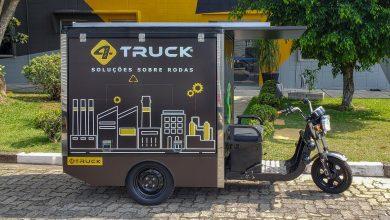 Foto de 4TRUCK lança baú de alumínio para triciclos elétricos no Salão Duas Rodas 2019