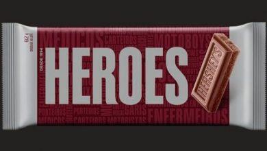 Foto de Hershey's muda embalagem e homenageia profissionais no combate à covid-19